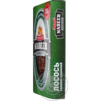 Лосось Пивний Nabeer філе-соломка солоно-сушена 100г - купити, ціни на CітіМаркет - фото 7