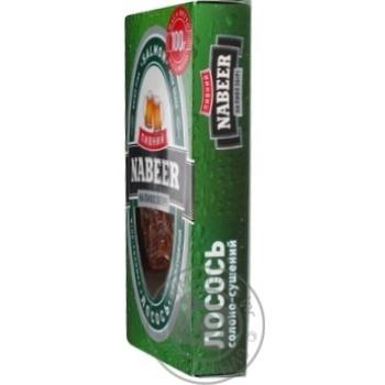 Лосось Пивний Nabeer філе-соломка солоно-сушена 100г - купити, ціни на CітіМаркет - фото 5