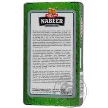 Лосось Пивний Nabeer філе-соломка солоно-сушена 100г - купити, ціни на CітіМаркет - фото 2