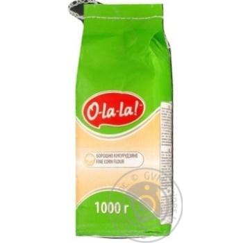 Борошно O-la-la! кукурудзяне 1кг - купити, ціни на Ашан - фото 2