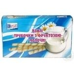 Wafer rolls Ekoproduct milk 200g Ukraine