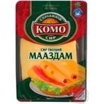 Сыр мааздам Комо твердый 45% 10г Украина