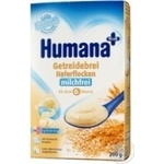 Dry dairy-free porridge Humana oatmeal for 6+ month old babies 250g Germany