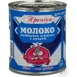 Молоко сгущенное Заречье Премиум цельное с сахаром 8.5% 400г железная банка Украина