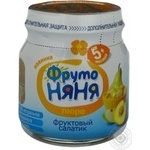Puree Fruto nyanya fruit for children 112ml Russia