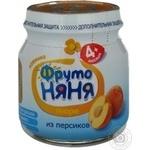 Puree Fruto nyanya for children 110ml Russia