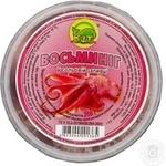 Морепродукты осьминог К.и.т Осьминог в рассоле 260г Украина