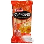 Sausage Vici cheese precooked 100g Russia
