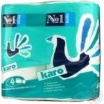 Туалетная бумага Bella №1 Karo 4шт