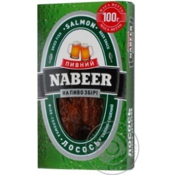 Лосось Пивний Nabeer філе-соломка солоно-сушена 100г - купити, ціни на CітіМаркет - фото 8