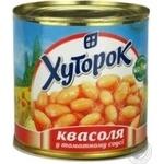 Vegetables kidney bean Khutorok in tomato sauce 425ml can