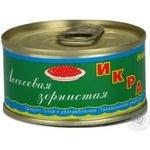 Ікра Находка лосось зерниста 120г залізна банка Україна