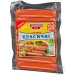 Сосиска Колбасный ряд 250г Украина