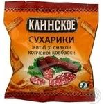 Сухарики з Копченою ковбаскою Клінські 40г