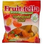 Мармелад жувальний Fruit-tella Тропічний салат пкт.70г