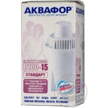 Кассета сменная Аквафор В15 - купить, цены на Ашан - фото 2