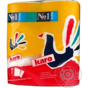Полотенца бумажные Bella №1 Karo 2шт