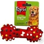 Topsi Toy for animals dumbbell 15cm