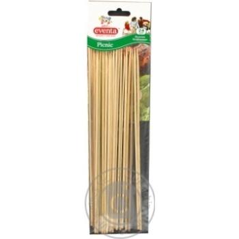 Палички Eventa бамбукові 24шт/уп - купити, ціни на Фуршет - фото 3