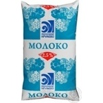 Молоко Молочное Кружево пастеризованное 2.5% пленка 1000мл Белоруссия