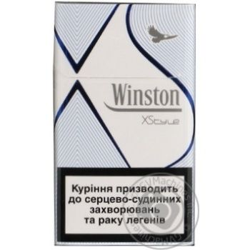 Цигарки Winston Xstyle Blue