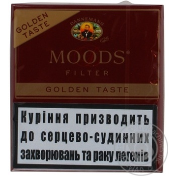 Сигара Moods filter golden taste