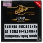 Сигара Al Capone Sweets Filter - купити, ціни на Novus - фото 2