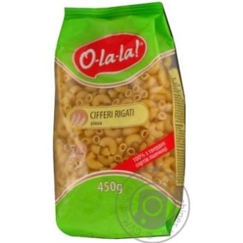 Макароны O-la-la! Cifferi Rigati 450г