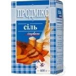 Salt Prodmiks Extra iodinated 400g Ukraine