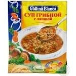 Суп грибний з локшиною Galina Blanca 51г