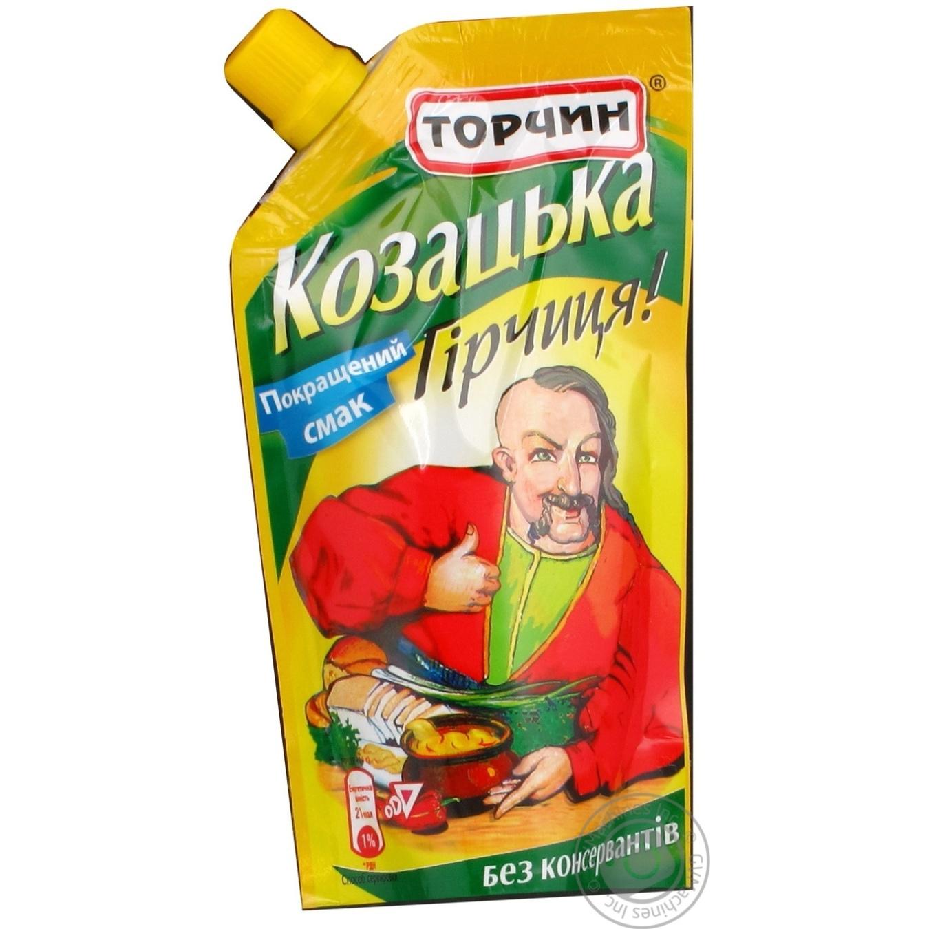 Гірчиця Торчин Козацька 140г Україна → Консерви і приправи ...