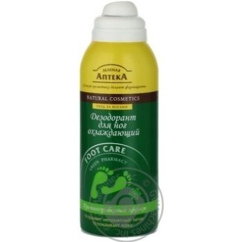 Дезодорант для ніг Зелена Аптека охолоджуючий 150мл - купити, ціни на Восторг - фото 6