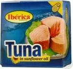 Fish tuna Iberica in oil 160g