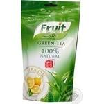 Чай зелений байховий крупнолистовий Fruit Line Lemon д/п 100г