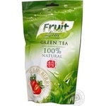 Green tea Fruit Line Strawberry 100g China