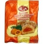 Пряники заварні глазуровані з абрикосами ДБКК 190г