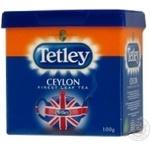 Чай чорний Tetley Ceylon 100г