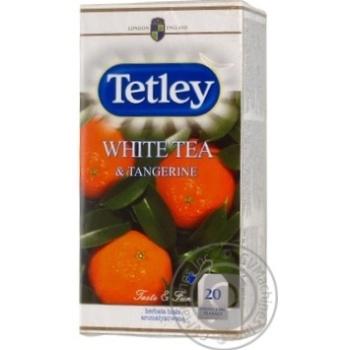 Чай Tetley White&tangerine 1,6г*20п