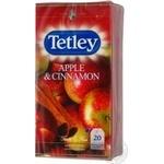 Чай чорний Tetley Apple&cinnamon 1,6г*20п