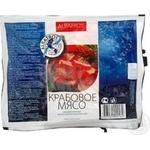 Крабове м`ясо заморожене Альбатрос 200г