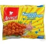 Popcorn Legko chicken with garlic precooked 350g Ukraine