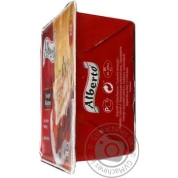 Лазанья Alberto Bolognese Говядина-свинина 400г - купить, цены на Метро - фото 2