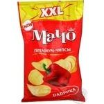 Чипсы Мачо Паприка Премиум XXL картофельные со вкусом паприки 135г Украина