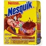 Cocktail Nesquik milky with chocolate instant 2.1% 200g Russia