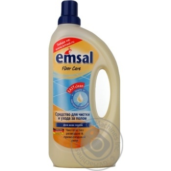 Emsal Floor-Care Universal Floor Cleaner Without Wax 1l - buy, prices for Novus - image 4