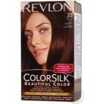 Фарба для волосся Revlon ColorSilk 33 Теплий темно-каштановий 3WB