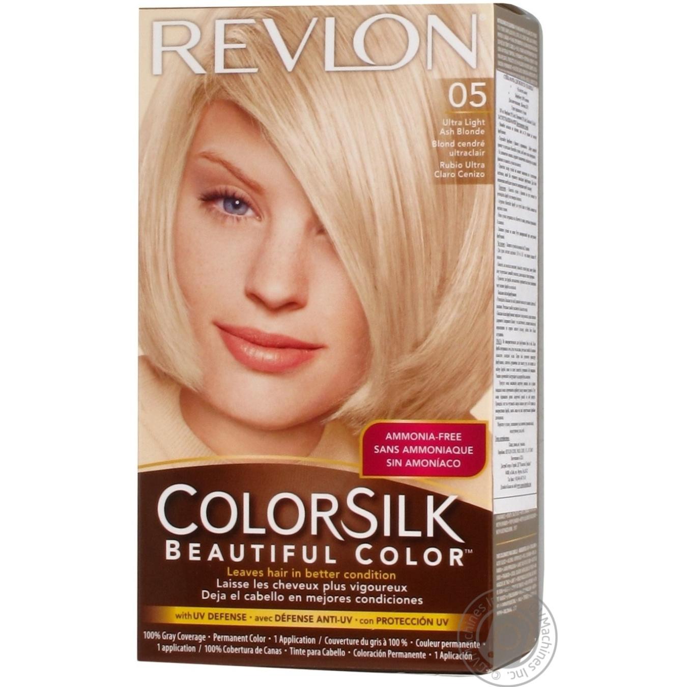 revlon стойкая краска для волос colorsilk