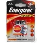Батарейка Energizer Ультра + AA ЛР6 бл.2