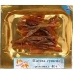 Плотка Рыбный Рай сушеная очищенная нарезаная соломкой 40г вакуумная упаковка Украина