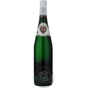 Вино рислинг Картхойзерхоф белое полусладкое 9% 2007год 750мл Мозель-саар-рювер Германия